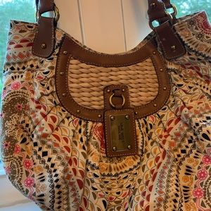 Nine West hobo bag in cute and unique print